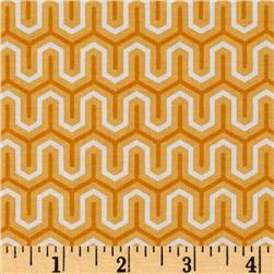 Riley Blake Simply Sweet Zig Zag Orange