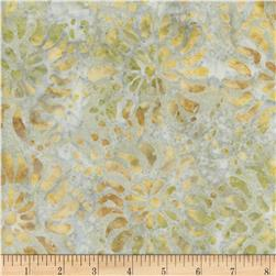 Timeless Treasures Tonga Batiks Kiwi Dandelion Cosmic