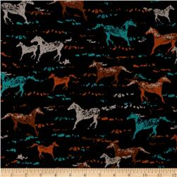 Michael Miller Wild Horses Sunset Fabric