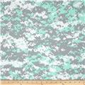 Urban Camouflage Mint/White/Grey