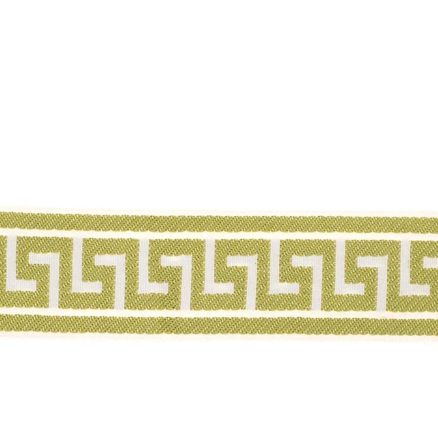 "Fabricut 2.625"" Athens Key Trim Lime"