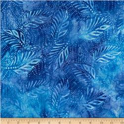 Tonga Batik Reef Leaves Blue