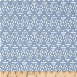 Facets Crowns Metallic Light Blue