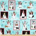 Holly Jolly Christmas Snowman Snow