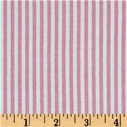 Rayon Challis Stripes Dusty Rose