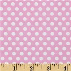 Michael Miller Butterfly Kisses Kiss Dot Pink Fabric