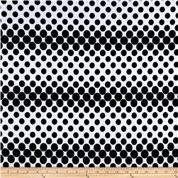 Ponte de Roma Knit Bubbles Black/White
