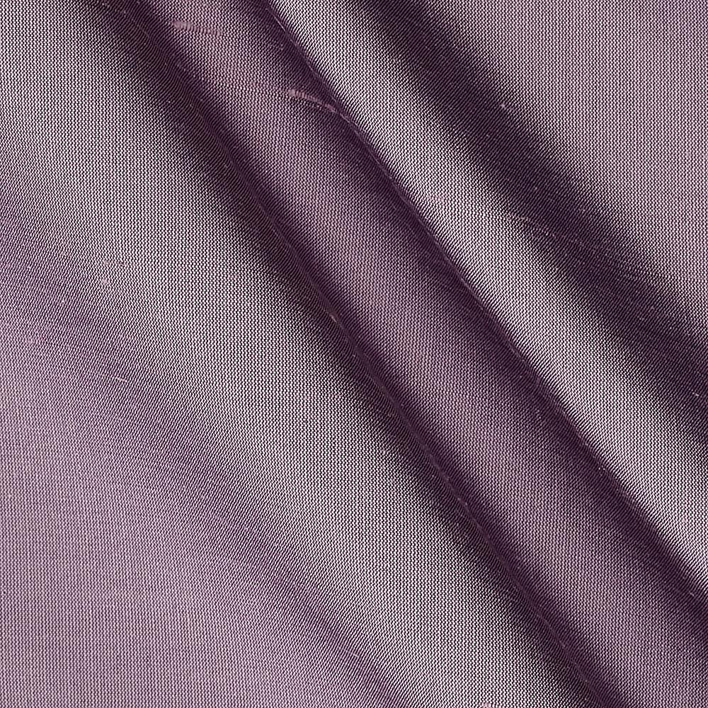 Dupioni Silk Fabric Irridescent Violet