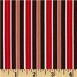 Sending My Love Candy Kiss Stripe Brown