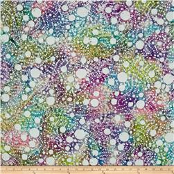 Indian Batik Large Dots Pastel/Multi