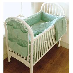 Kwik Sew Crib Comforter, Bed Skirt, Fitted Sheet, Bumper Pad & Organizer Pattern