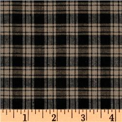 Homespun Basics Plaid Black/Natural