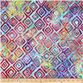 Artisan Batiks Graphic Elementals II Diamonds Rainbow