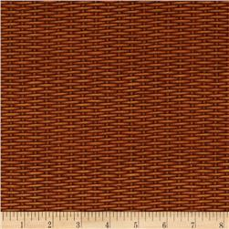 Harvest Botanical Basket Weave Brown