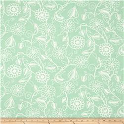 Clean Living Floral Mint