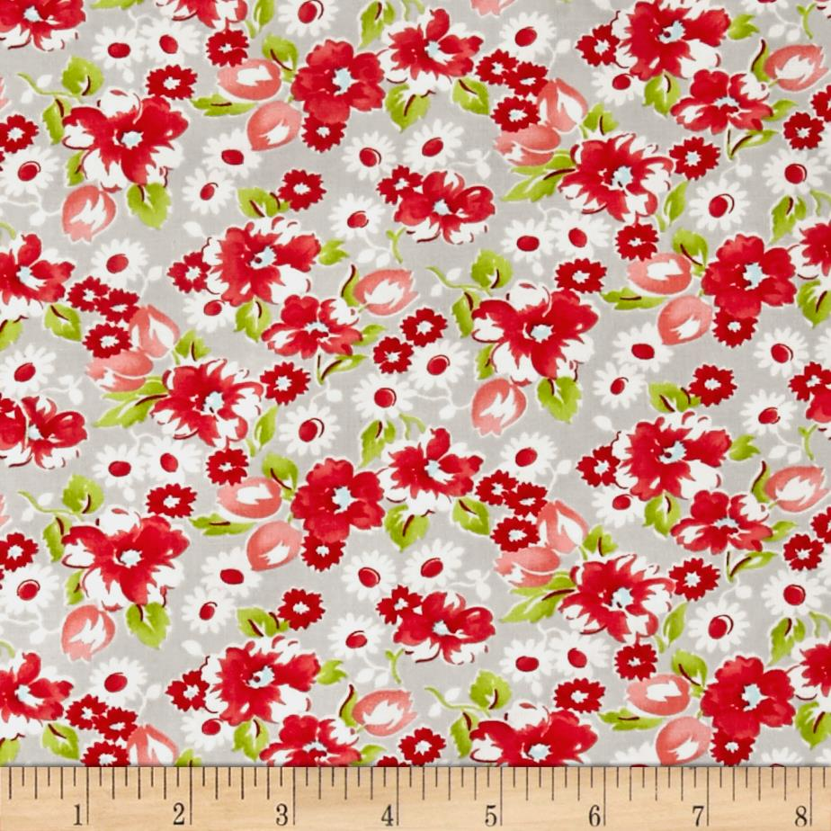 Moda Little Ruby Little Swoon Grey
