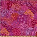 Kaffe Fassett Fall 2012 Collective Oriental Trees Pink