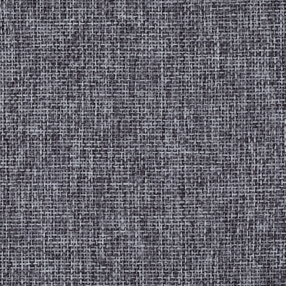 Vintage Poly Burlap Charcoal Fabric by Ben in USA