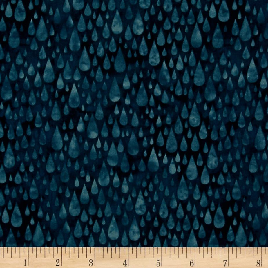 H20 Raindrops Dusty Teal