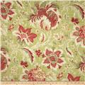 Waverly Arbor Imagery Slub Crimson