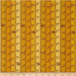 Hammer & Nails Measure Once Yellow