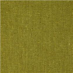 Designer Essentials Linen/Cotton Solid Olive