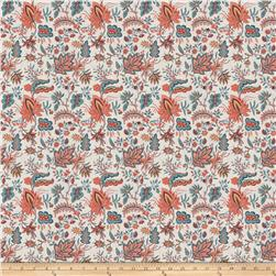 French General Josephine Linen Blend Exotic Sienna