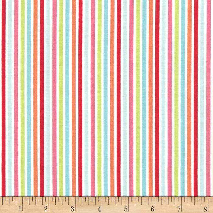 Riley Blake Flutterberry Stripe Multi