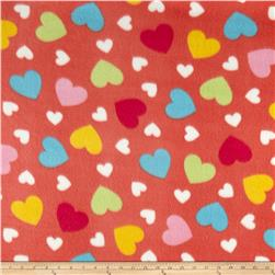 Fleece Hearts of Love Multi