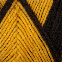 Red Heart Team Spirit Yarn (936) Gold/Black