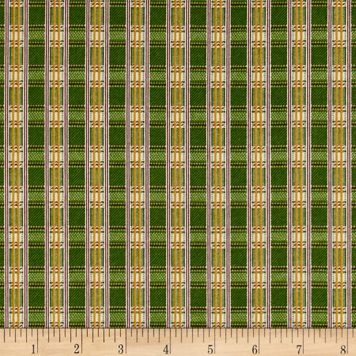 Yuletide Memories Plaid Green