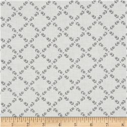 Anything Goes Basics Ditsy Grid Grey