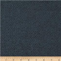 Color Catchers Yarn-Dye Flannel Chevron Black