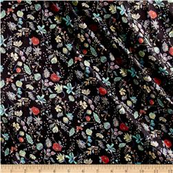 Liberty of London Belgravia Satin Pirouette Black/Multi