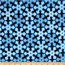 Kanvas Holiday Christmas Lights Snowflake Glow Blue