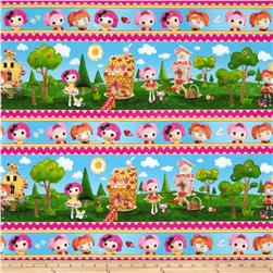 Lalaloopsy Cute As A Button Repeating Stripe Multi