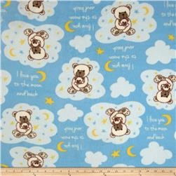 Polar Fleece Teddy Bears Multi