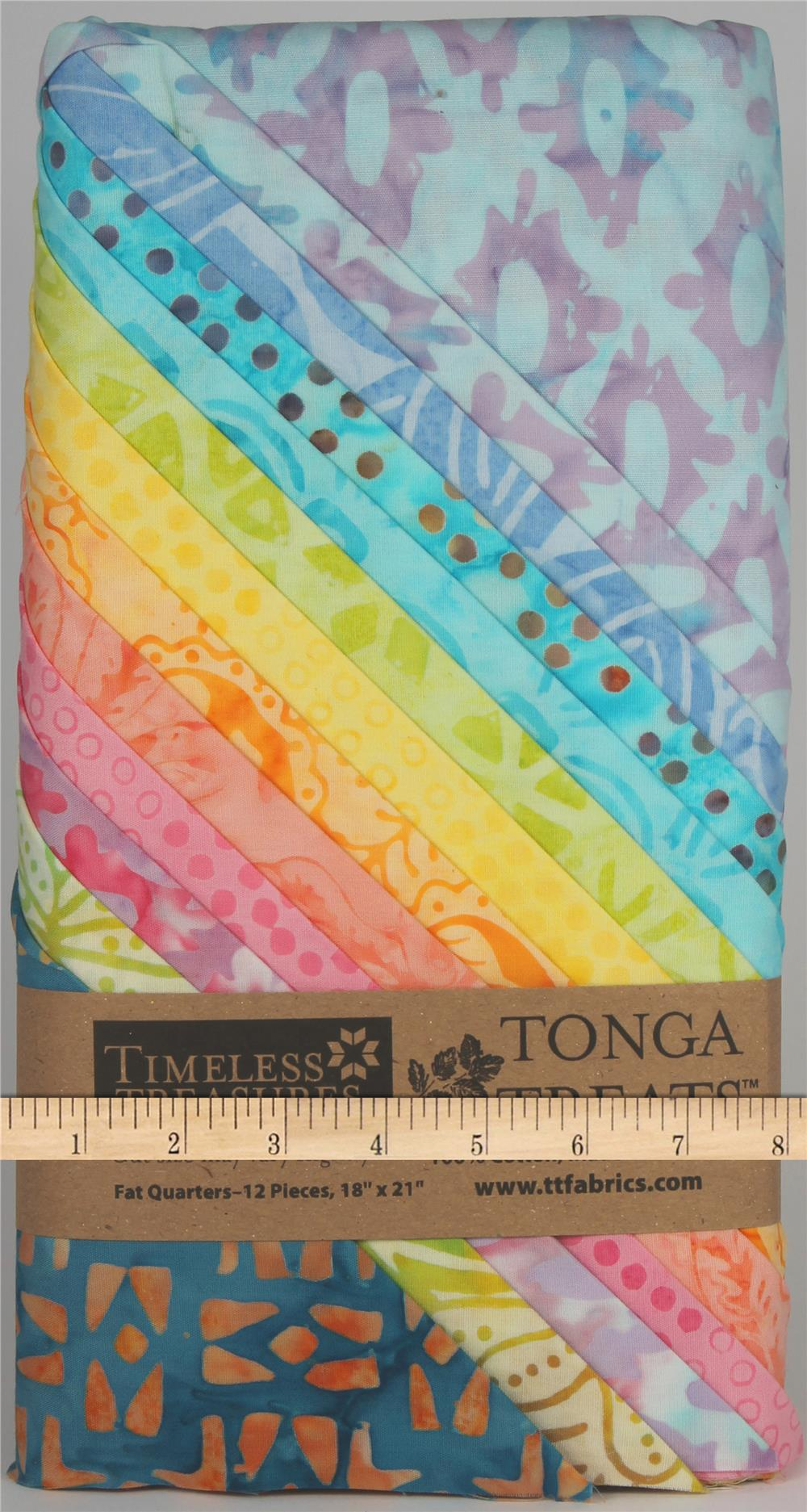 Timeless Treasures Tonga Batik FQ Packs