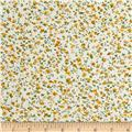 Telio Hampton Court Cotton Poplin Floral Print Yellow