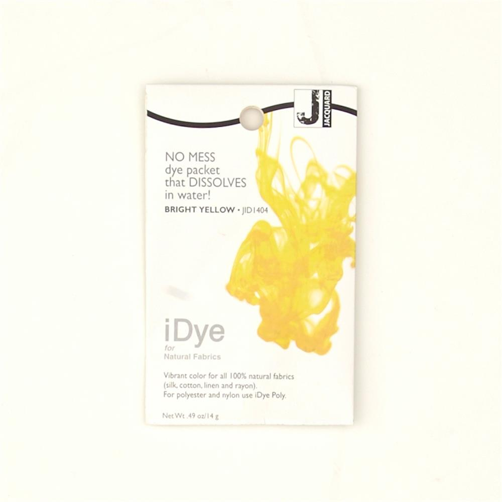 Jacquard iDye Natural Fiber Dye Bright Yellow