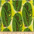 Caiman Banana Leaf Tropical Green