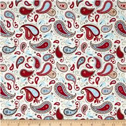 Riley Blake Rodeo Rider Rodeo Paisley Cream