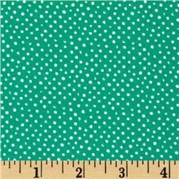 Mini Confetti Dot Parrot Fabric