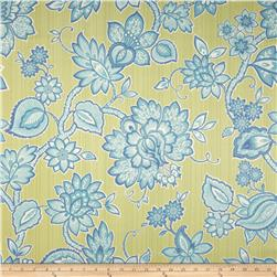 Waverly Floral Flair Twill Celestial