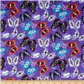 Moda Native Sun Butterflies Amethyst