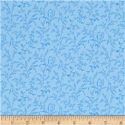 Moda Summer Breeze IV Leaves & Wheat Light Blue