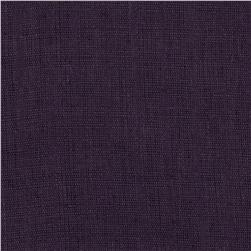 Dotted Purple Sheer Linen