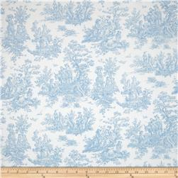 Premier Prints Jamestown Toile Baby Blue
