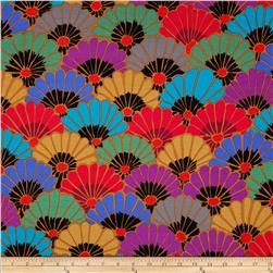 Kaffe Fassett Collective Thousand Flowers Dark Fabric