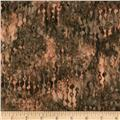 Bali Batiks Handpaint Beaded Curtain Taupe